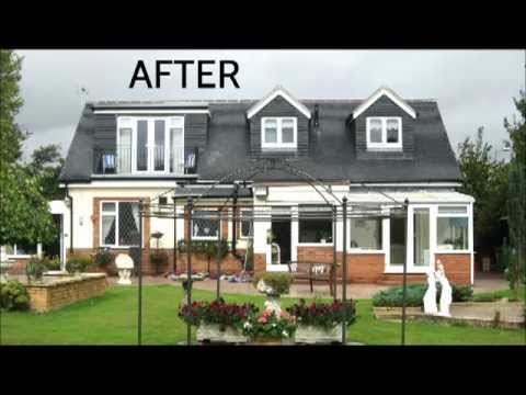 Pitched Dormer Bungalow Loft Conversion In Birmingham YouTube
