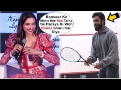 Deepika Padukone's FUNNY Reaction On BEATING Ranveer Singh In Badminton While On Sets Of 83 Movie Mp3