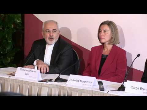 HRVP Federica MOGHERINI attends the Oslo Forum