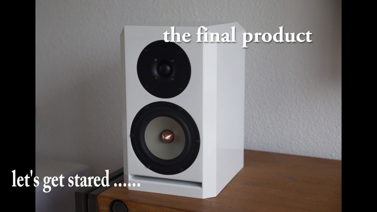 I build my own speakers: BB1 MK2 DIY with Seas Excel drivers