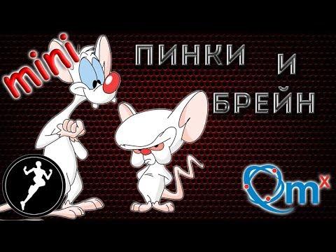 Обзор фигурки Пинки и Брейн, Pinky And The Brain(QMx)