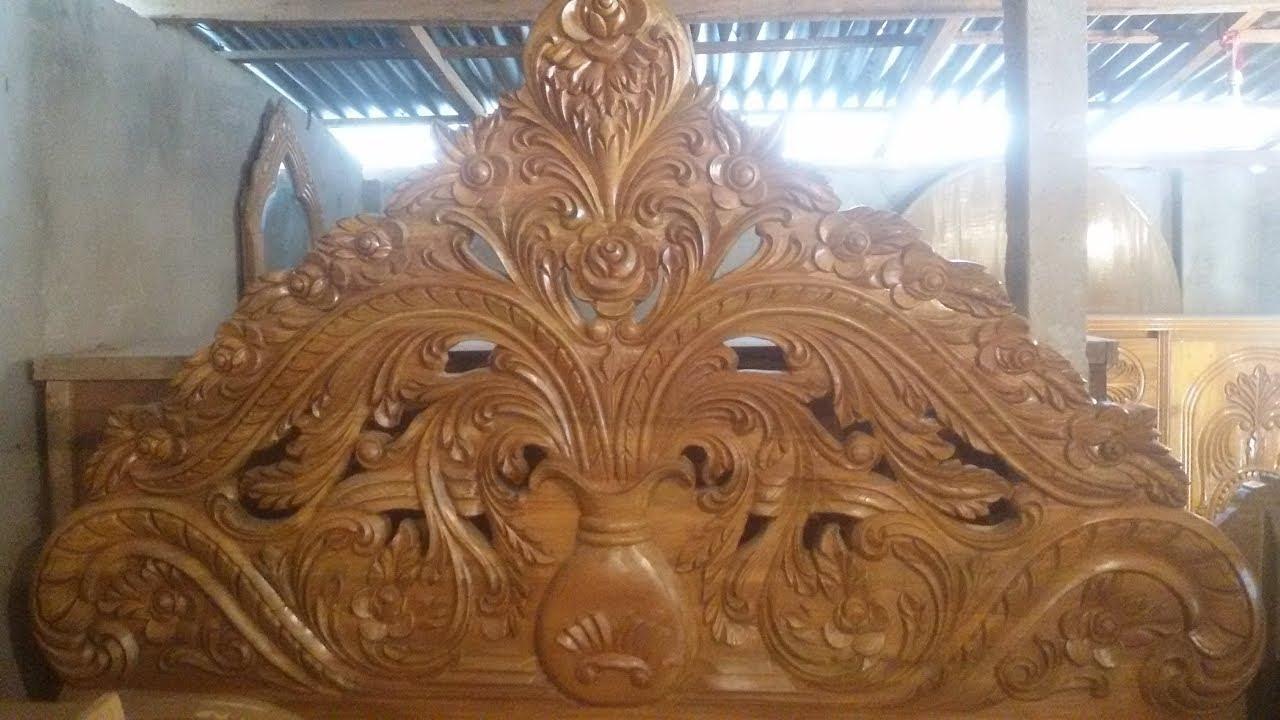 Bedroom Furniture Wood Bed Design @Segun
