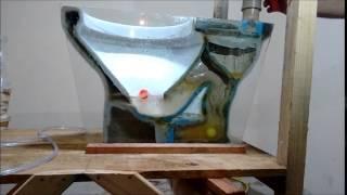 Como funciona um vaso sanitário?