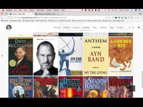 WordPress Book List StylePak 1