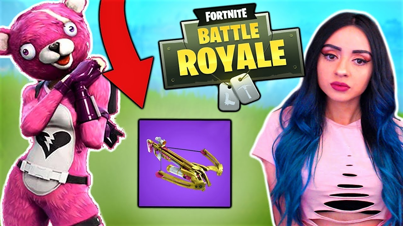 fortnite how to use crosbow