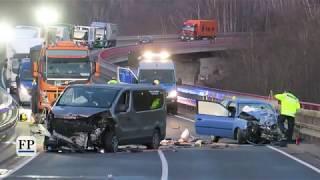 Schwerer Unfall auf Autobahnzubringer