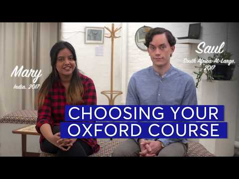 Choice of Oxford Course - Rhodes Scholarship Admissions Playlist Mp3