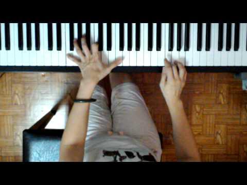 แพ้ใจ(ใหม่ เจริญปุระ) cover เปียโนง่ายๆ