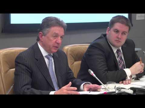 Legal report presentation at the UN