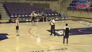 Basketball Drill to Train On-Ball and Help Defense!