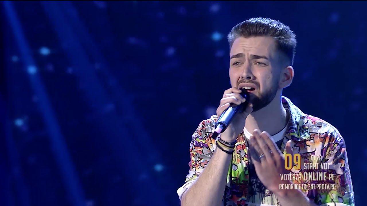 Românii au talent 2021: Semifinala 1 (prestație) – Dragoș Pădeanu – solist vocal