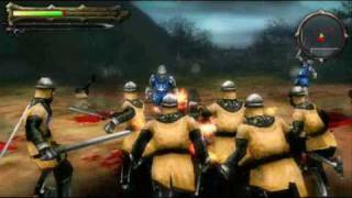 Undead Knights Gameplay Video for PSP