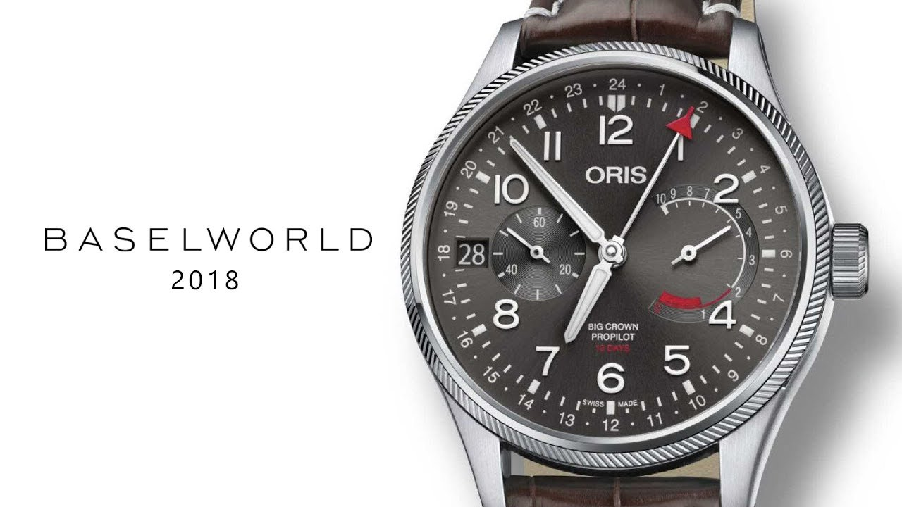 wound worn oris baselworld audi watches highlights