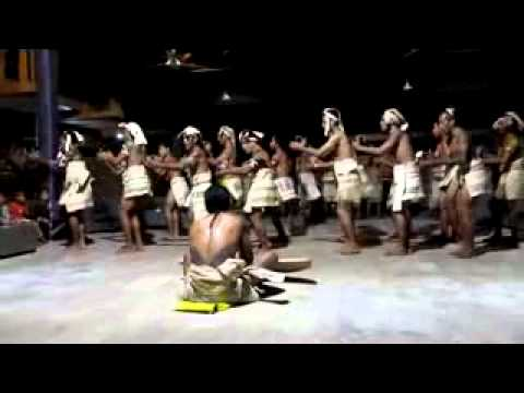Solomon Islands Rennell Bellona Traditional Dance