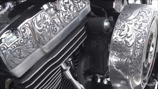 25.100HD Кастом мотоциклы на фестивале Harley- Davidson Екатеринбург 2017