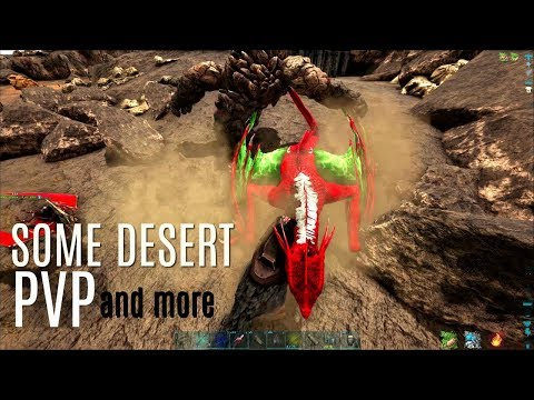 CRYOPODS, Mutations, and Desert PVP - 5 Man PVP - ARK Survival