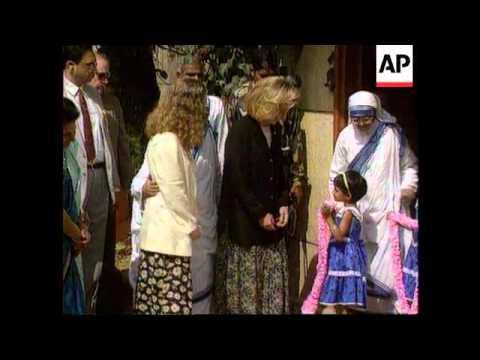 India - Visit Hillary Clinton