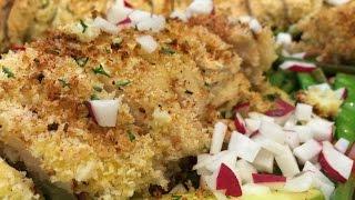 Fresh Mozzarella And Basil Chicken Roulade In Gujarati