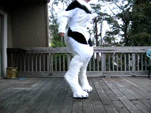 Werewolf Costume Stilt Progress 3 Youtube