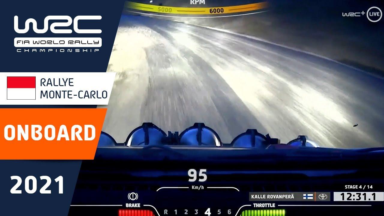 WRC - Rallye Monte-Carlo 2021: ONBOARD Rovanperä SS4