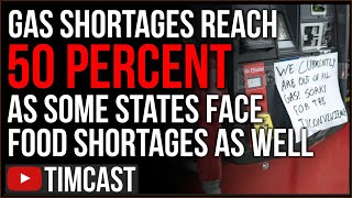 Fear of Runaway Inflation As Local News Reports Food Shortages, Gas Shortage In Some States Near 50%