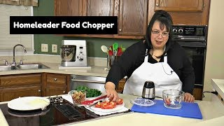 Homeleader Mini Chopper Review ~ 5 Cup Mini Food Chopper ~ Amy Learns to Cook