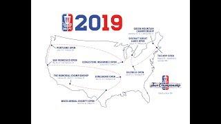 2019 Disc Golf Pro Tour Schedule