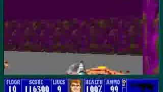 Wolfenstein 3D: Level 10 (secret level)