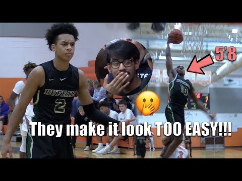 Tre Mann & 5'8 Terry Ivery WILD OUT as Villages Charter School cruise past Mt Dora High School!