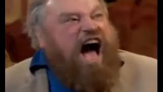 Brian Blessed goes nuts