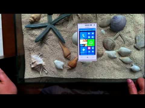 Huawei Ascend W1 - smartfren unboxing