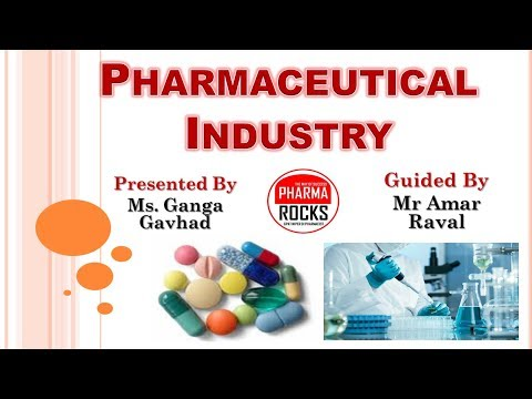 PHARMACEUTICAL INDUSTRY DETAIL INFORMATION