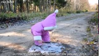 FAILS 2014 - ULTIMATE CUTE BABY FAIL COMPILATION FEBRUARY 2014