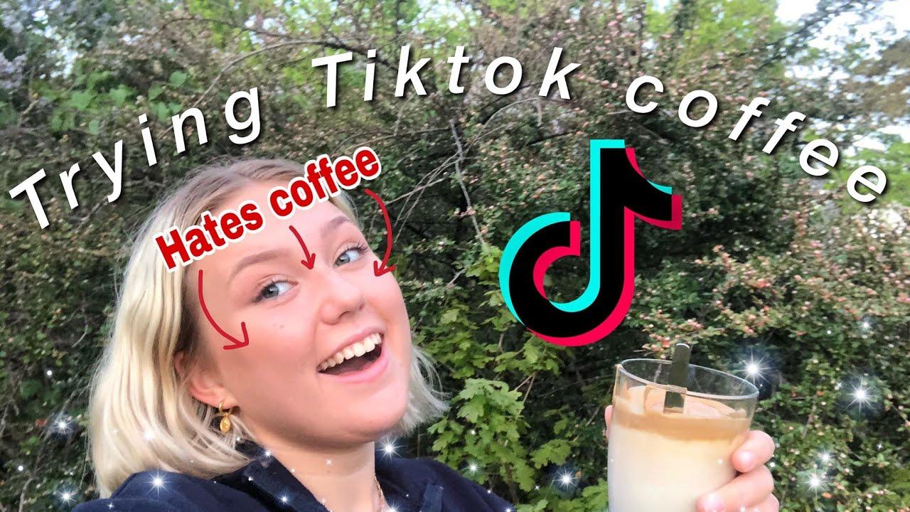 TRYING TIKTOK COFFEE - YouTube