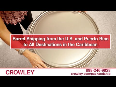 Crowley Ships Your Barrels to the Caribbean