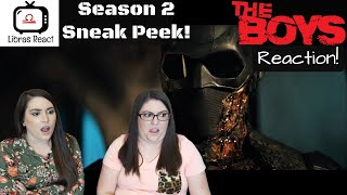 The Boys Season 2 Sneak Peek Trailer Reaction! | Libras React