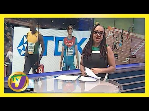 Jamaican Olympic Hurdler uses Pool to Prepare   TVJ Sports