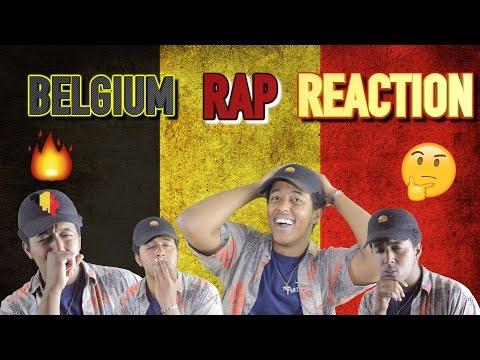 FIRST REACTION TO BELGIAN RAP/ HIP HOP