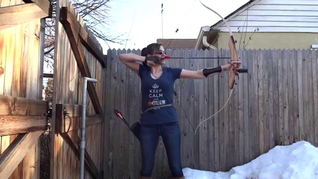 Attirant Backyard Archery II   YouTube