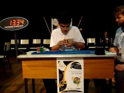 3x3x3 media 22.55- Brasilia Open 2009
