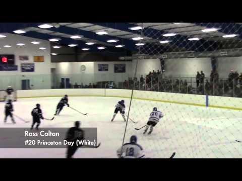 Ross Colton '15 - 2012-13 Princeton Day School Hockey Highlight Reel