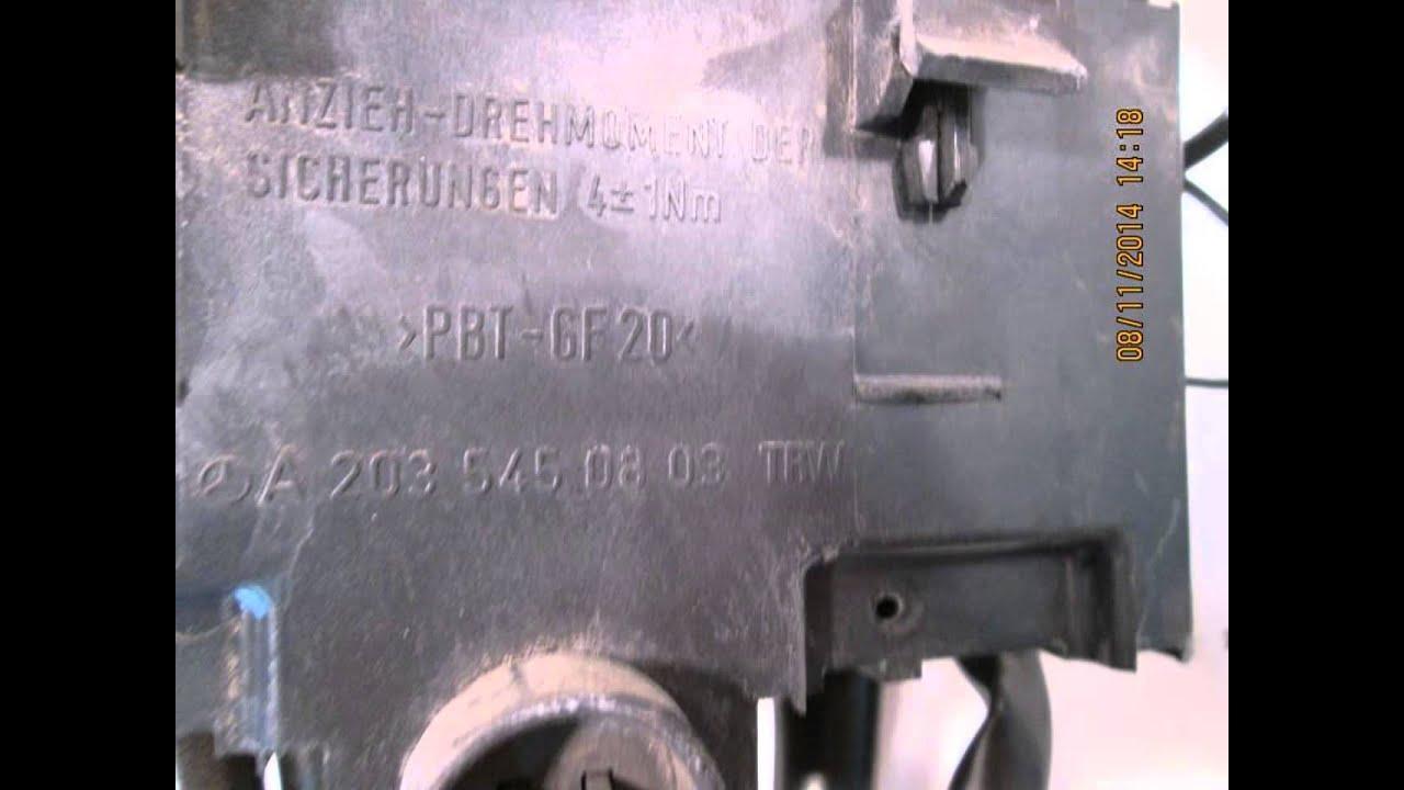 2006 Mercedes C230 Fuse Junction Box Oem 2035450803
