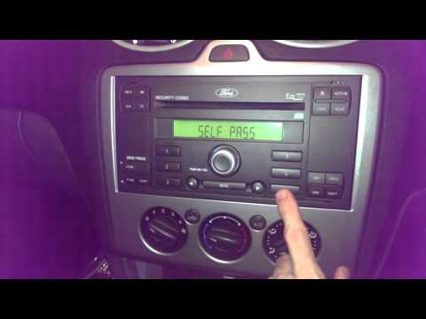Ford Focus - Sanyo Stereo serial number