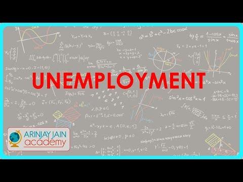 503. Class XI - CBSE, ICSE, NCERT -  UnEmployment