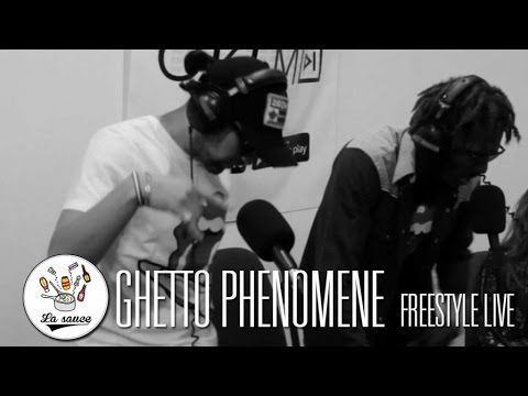 Ghetto Phenomene - Freestyle Live #LaSauce (OKLM Radio)