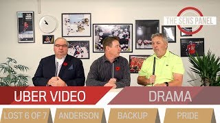 Uber video, only-hope Anderson & trying to find some pride  |  THE SENS PANEL November 6, 2018