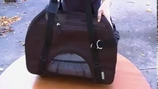 Видео-обзор сумки переноски на колесах для собак и кошек Bergan Wheeled Comfort Carrier