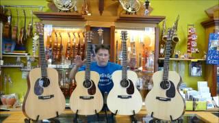 Czym różnią się rozmiary gitar akustycznych? (Martin) Sklep GAMA Gdańsk