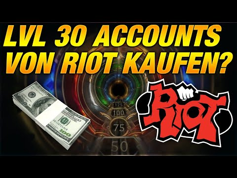 LVL 30 Accounts von Riots kaufen? Den Smurf schaden minimieren! [League of Legends] thumbnail