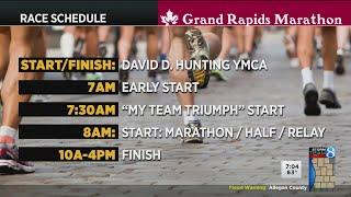 Grand Rapids marathon to run despite rain